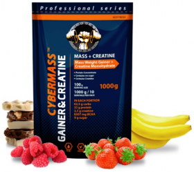 CyberMass Mass Creatine 1000 г Малина