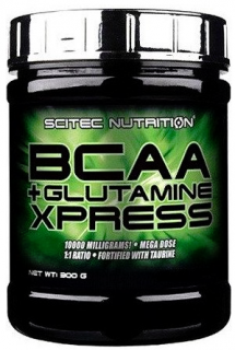 Scitec Nutrition BCAA+Glutamine Xpress 300 г лонг