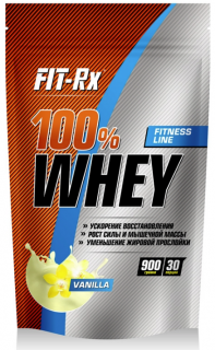 FIT- Rx 100% Whey 900 г ваниль