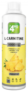 4Me Nutrition L-Carnitine concentrate 3000 500 мл ананас