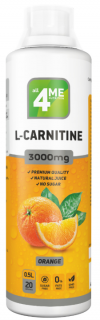 4Me Nutrition L-Carnitine concentrate 3000 500 мл апельсин