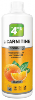 4Me Nutrition L-Carnitine concentrate 3000 1000 мл апельсин