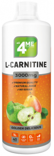4Me Nutrition L-Carnitine concentrate 3000 1000 мл яблоко-груша