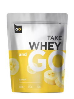 Take and Go Whey 900 г банан