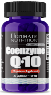 Ultimate Nutrition Coenzyme Q10 100% Premium 100 mg 30 капс срок годности до 12.20
