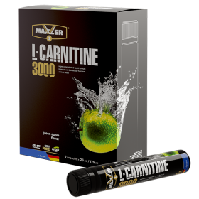 Maxler L-Carnitine 7x25 ml (3000 mg) Green Apple