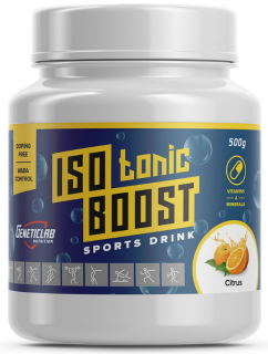 GeneticLab Isotonic Boost 500 г Цитрус