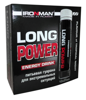 "Ironman Гуарана ""Long Power"" (10 флак. х 25 мл)"